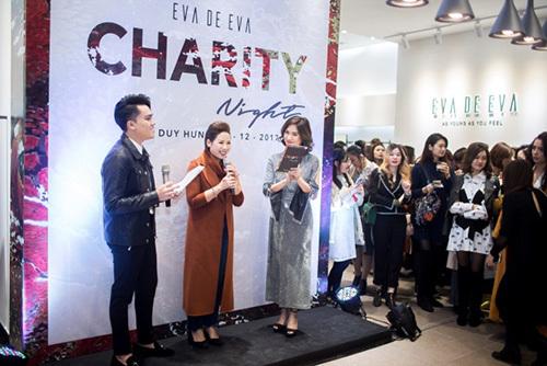 Thụy Vân, Thúy Hằng hội ngộ trong đêm thiện nguyện Charity Night