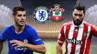 Chelsea 0-0 Southampton: Morata dự bị, Willian đá chính (H1)