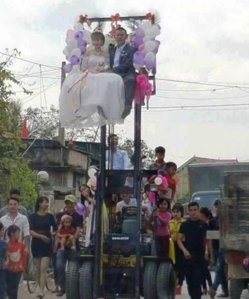 Đám cưới,Rước dâu