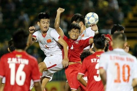 U21 Việt Nam 2-0 U21 Myanmar: Văn Sơn sút 11m phút 64