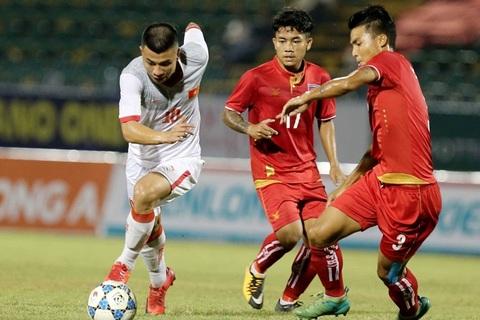U21 Việt Nam 2-0 U21 Myanmar