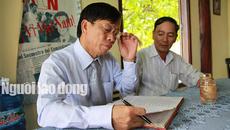 Ông Lê Phước Thanh xin xem lại việc kỷ luật con trai Hoài Bảo