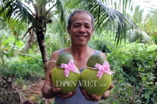 quả trưng Tết,trái cây độc lạ,dừa điêu khắc