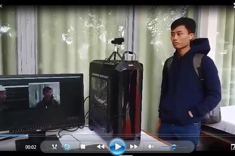 Sản phẩm nhận diện khuôn mặt của sinh viên Bách khoa