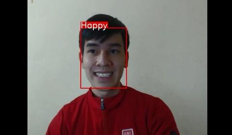 Sản phẩm nhận diện khuôn mặt của sinh viên Bách khoa 1