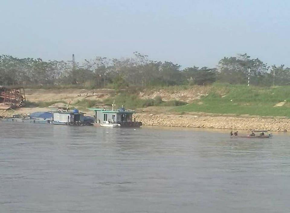 Tàu đâm nhau trên sông Hồng, 1 thuyền trưởng mất tích