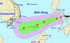 Thời tiết 18/12: Bão Kai-Tak vào biển Đông, tiếp tục mạnh thêm