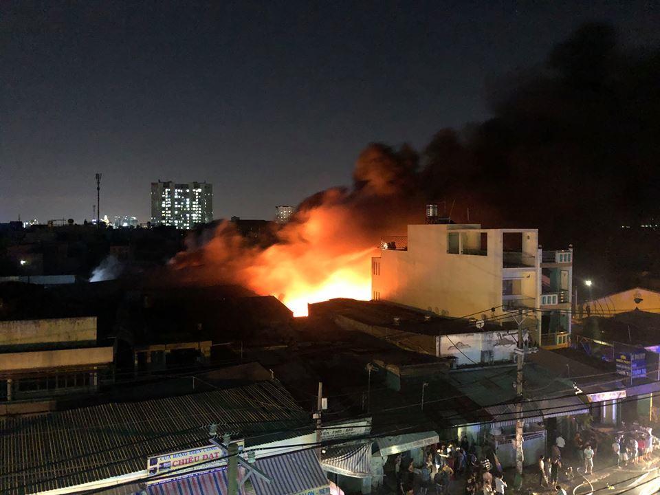 cháy,cháy ở Sài Gòn