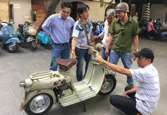 Sân chơi xe cổ độc đáo bậc nhất Sài Gòn