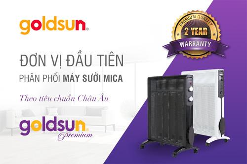 Sưởi Mica Goldsun Premium - tiết kiệm 40% điện năng