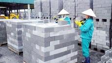 Công trình từ 9 tầng phải dùng 80% vật liệu xây không nung