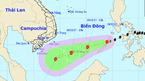 Bão số 15 giật cấp 10 trên biển Đông