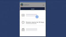 """Facebook bổ sung tính năng """"phớt lờ"""" bạn đăng ảnh selfie quá nhiều"""