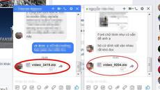 """Mã độc """"video lạ"""" lây lan chóng mặt qua chat Facebook tại VN"""