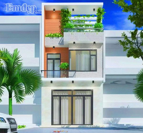 Tư vấn xây nhà ba tầng diện tích 33m2 cho vợ chồng trẻ