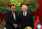 Cuộc hội đàm của hai Tổng bí thư Việt - Lào
