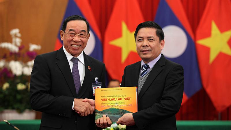 Lào,Việt-Lào,quan hệ Việt-Lào,Tổng bí thư Nguyễn Phú Trọng