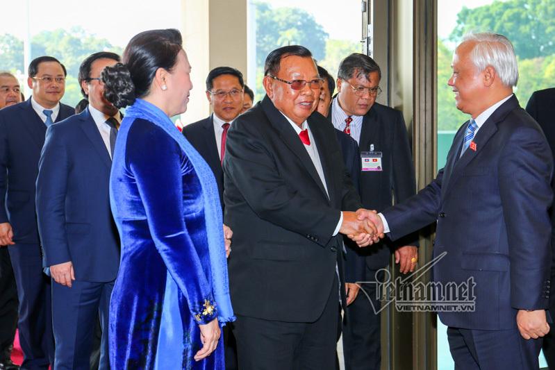Lào,Việt-Lào,quan hệ Việt-Lào,Tổng bí thư Lào thăm Việt Nam,Chủ tịch QH