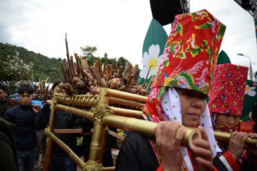 Gần vạn người trẩy hội hoa Sở Bình Liêu 2017