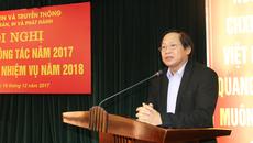 Cục Xuất bản triển khai nhiệm vụ công tác năm 2018