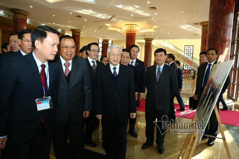 Lào,Việt-Lào,quan hệ Việt - Lào,Tổng bí thư Nguyễn Phú Trọng