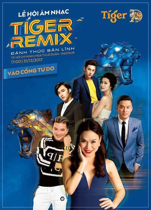 Đón năm mới 2018 cùng Tiger Remix tại Lê Duẩn đêm 31/12