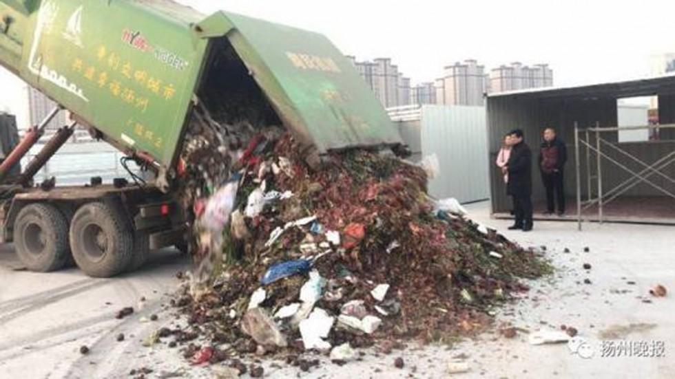 rác,kim cương,Trung Quốc