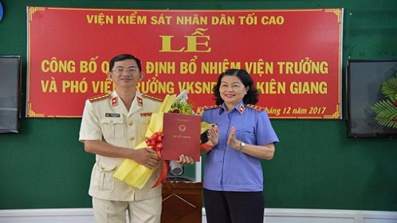 Nhân sự mới Nghệ An, Kiên Giang, Đắk Lắk