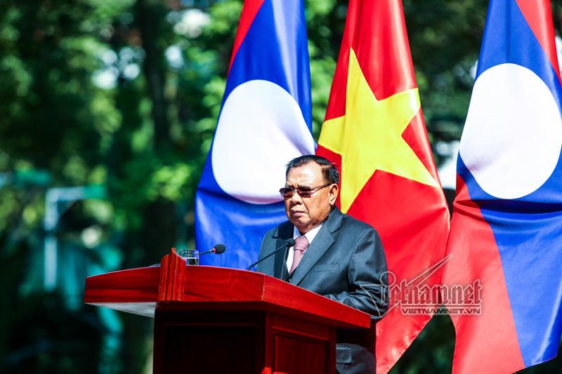 Lào,Việt-Lào,quan hệ Việt Nam-Lào,Chủ tịch nước Trần Đại Quang