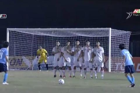 U21 Việt Nam 0-1 U21 Yokohama: Kento sút phạt phút 24
