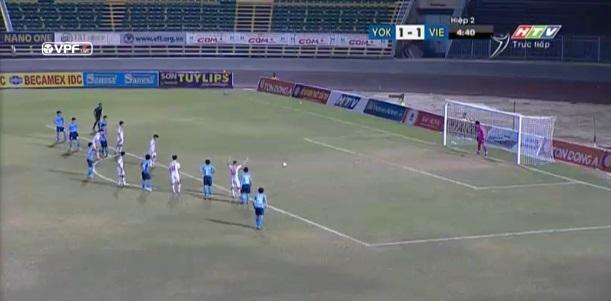 U21 Việt Nam 2-1 U21 Yokohama: Văn Sơn sút penalty