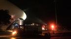 Quảng Ninh: Cháy Cung hội chợ, cột khói cao hàng chục mét