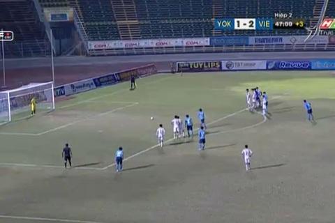 U21 Việt Nam 2-2 U21 Yokohama: Bàn gỡ hòa phút cuối