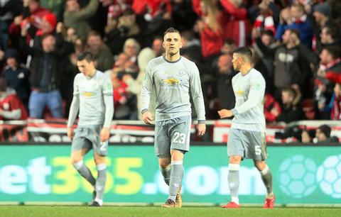 Video bàn thắng Bristol 2-1 MU