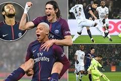 """Mbappe và Cavani """"lên đồng"""", PSG tiếp tục vô đối ở Ligue 1"""