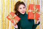 Ngọc Trâm rạng ngời trong bộ ảnh đón Noel
