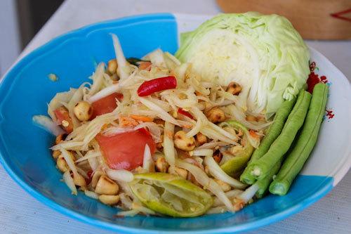 Salad đu đủ Thái tuyệt ngon