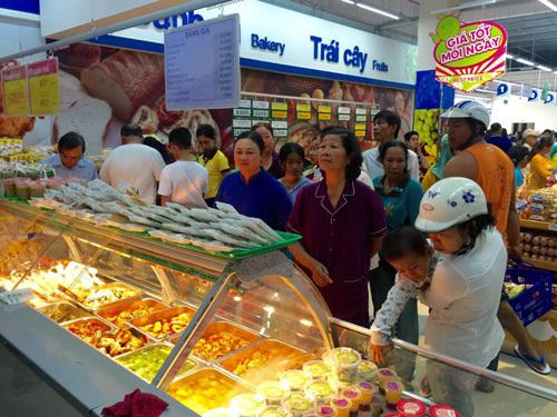 Co.opmart Nam Định nườm nượp khách nhờ khuyến mãi khủng