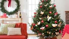 Cách trang trí cây thông Noel 2017 đơn giản mà đẹp nhất