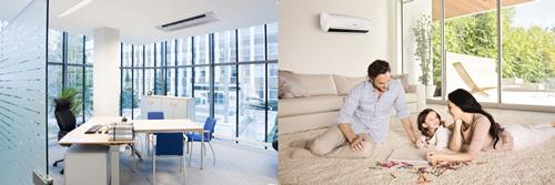 Điều hòa không khí hệ thống không chỉ làm đẹp công trình