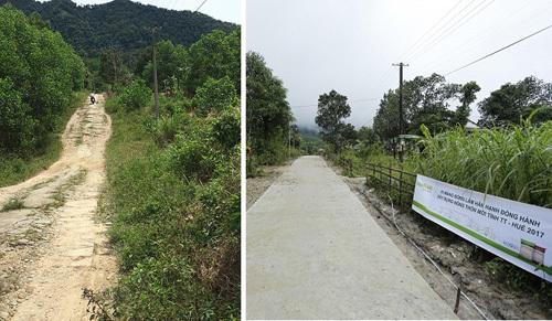 Thêm những con đường làm đẹp nông thôn Thừa Thiên Huế