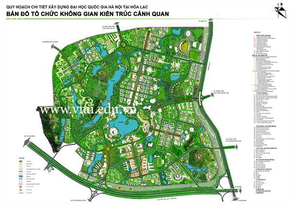 Dự án xây dựng ĐH Quốc gia Hà Nội