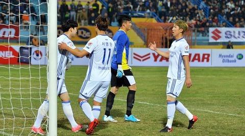 U23 Việt Nam 0-1 Ulsan Huyndai: Penalty phút 9