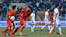 BXH của U23 Việt Nam tại VCK U23 châu Á 2018