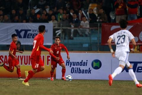 U23 Việt Nam 1-2 Ulsan Huyndai: Văn Toàn ghi bàn