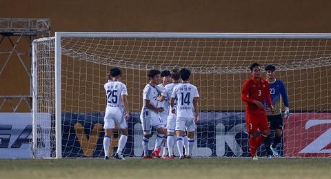 U23 Việt Nam 3-3 Ulsan Huyndai: