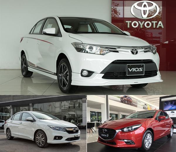 Các mẫu xe nào đang bán chạy nhất Việt Nam?