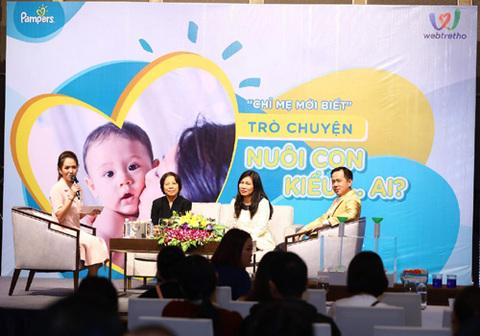 Chuyên gia giúp mẹ Việt tự tin nuôi con khoa học