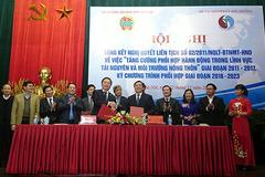 Bộ TN&MT với Hội Nông dân Việt Nam có quan hệ như cá với nước