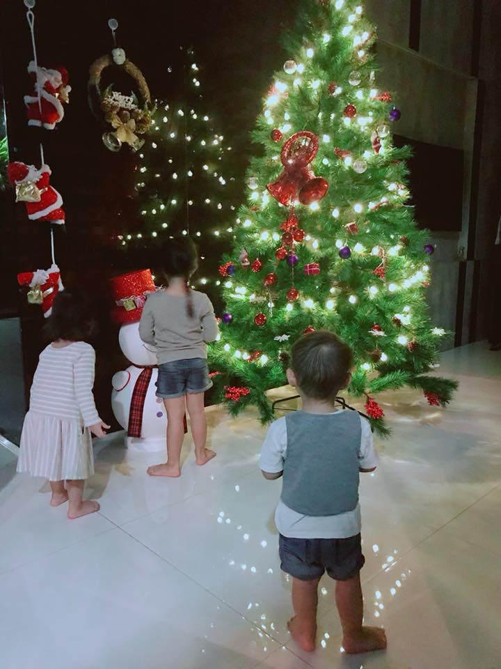 Giáng sinh 2017,Nhà đẹp,Nhà sao Việt,Noel 2017